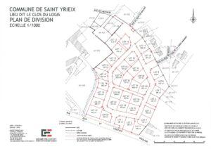 terrain à vendre à SAINT-YRIEIX (16710) – LOTISSEMENT LE CLOS DU LOGIS