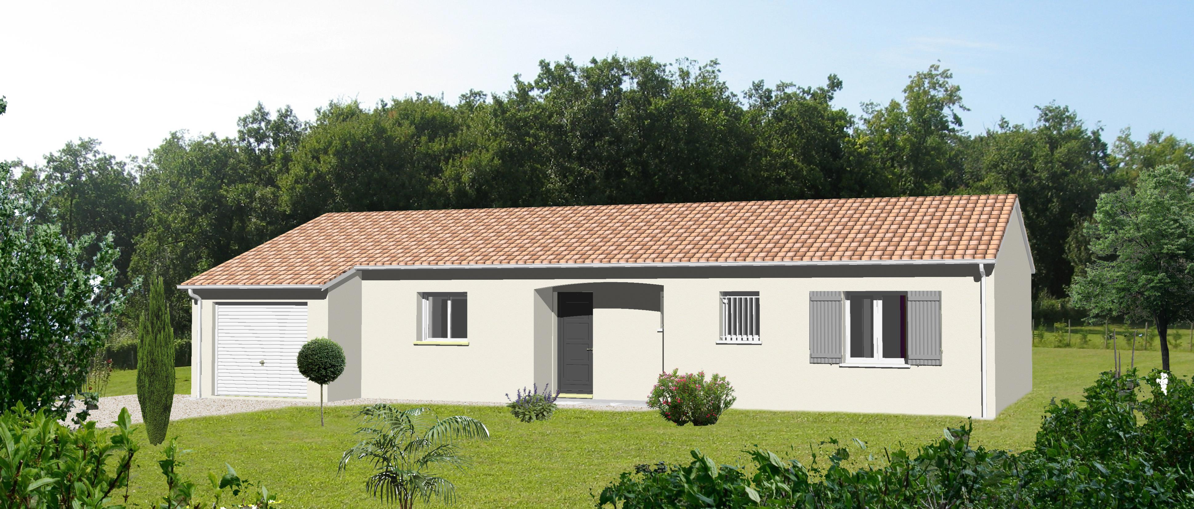 Constructeur maison plain pied  Angoulªme Charente 16