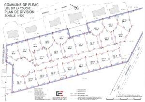 terrain à vendre à FLEAC (16730) – LOTISSEMENT LA BARQUE