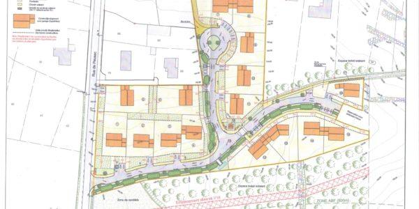 vente terrain à PUYMOYEN (16400) LOTISSEMENT BOIS DE RECLOS Sud-Est de la Charente